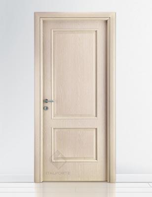 Porte interne mod ducale cieco in 6 diverse finiture a - Porte rovere sbiancato ...