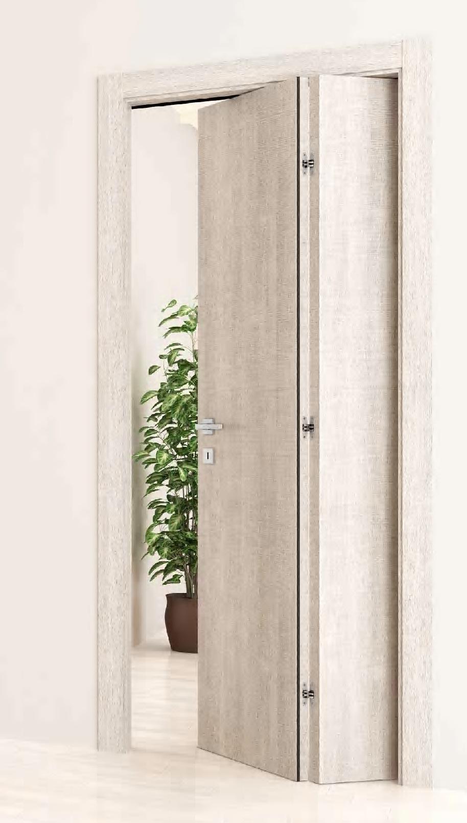 Porta xilo 2 inserti alluminio laminato spazzolato 10 finiture cieca 50 varianti ebay - Porta pieghevole ...